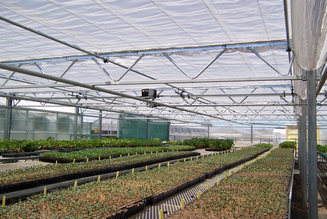 Commercial Greenhouse Retractable Shade House | Agra Tech