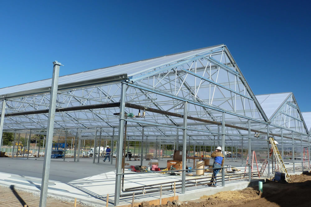 Constructing a Greener World in California ... One Greenhouse at a Time | Agra Tech
