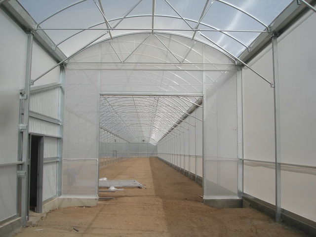 Insulator greenhouse for Lindcove Research | Lindcove Research | Exeter, CA