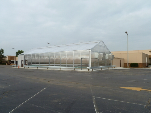 Solar Light greenhouse with Natural Ventilation for TAC Industries | TAC Industries | Springfield, OH
