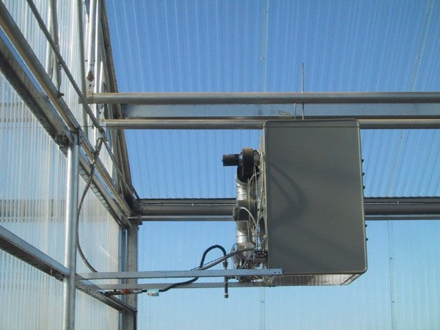 Modine Unit Heaters | Heater systems | Commercial Greenhouse Equipment