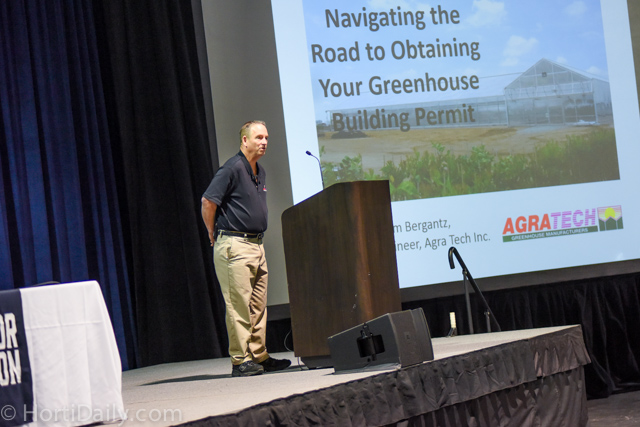Agra Tech's Jim Bergantz Makes Permitting Presentation at 2016 Indoor Ag Tech Conference | Commercial Greerhouse Manufacturer