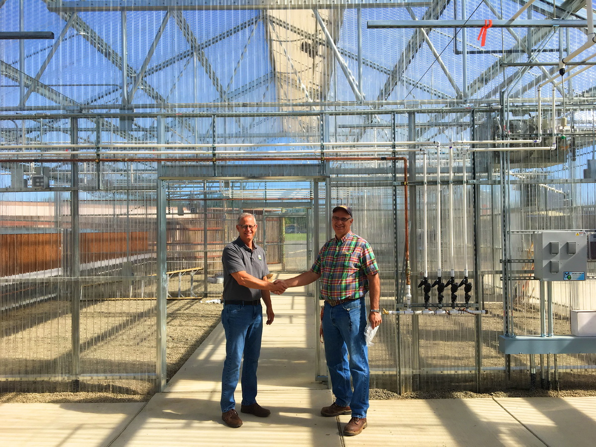 Woodland High School Greenhouse project | Agra Tech