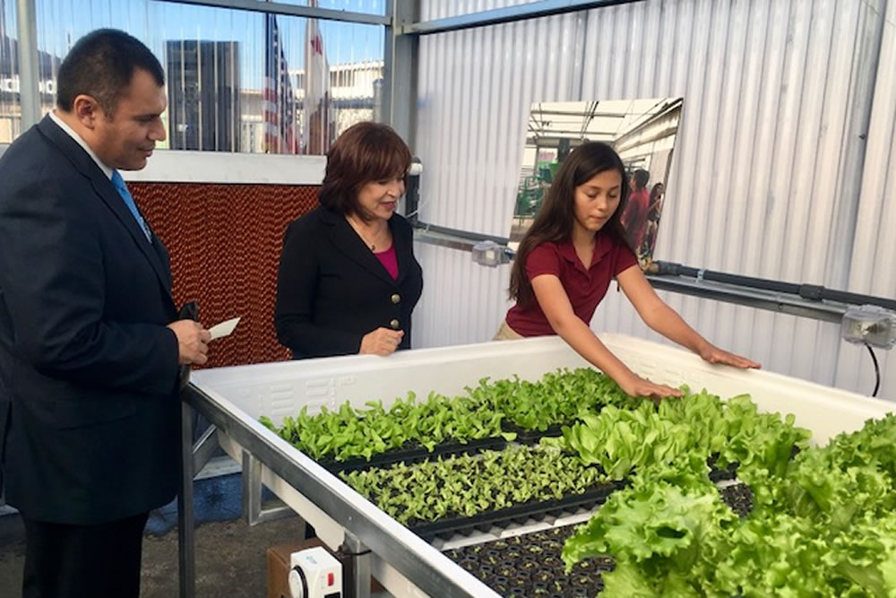 Feaster Charter School Loves its Greenhouse Entering Year #2 | Agra Tech