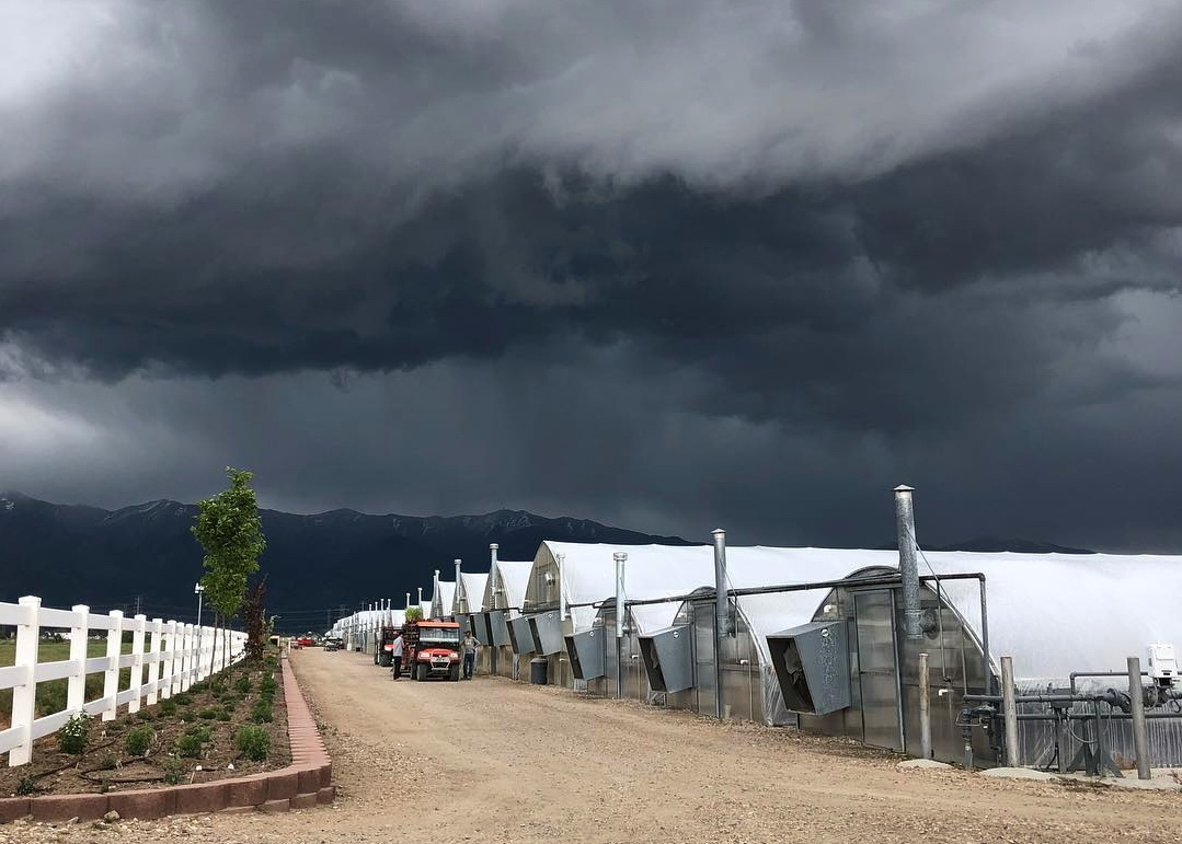 At 4,000 ft in Utah, weather can be a challenge